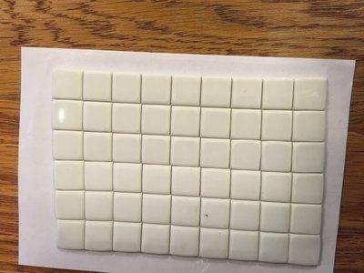 Plakgummetjes plakstrip voor lontjes vast te zetten