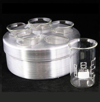 Glazen Beker voor au bain marie te smelten 150 ml