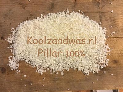 Koolzaadwas Pillar 100% voor vrijstaande kaarsen en Melts