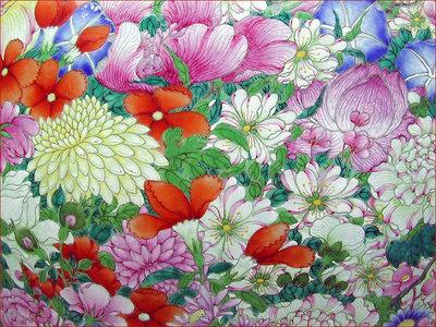 Mille Fleur parfum geurolie voor Melts en Kaarsen