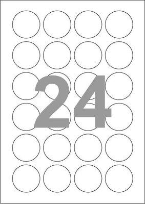 Stickers voor Grote Cups van 28 ml