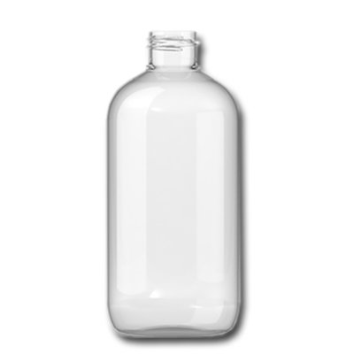 Plastic Fles Boston 250 ml met dop