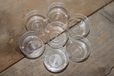Start pakket voor waxine lichtjes /Cups van glas